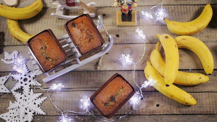 Karácsonyi banánkenyér