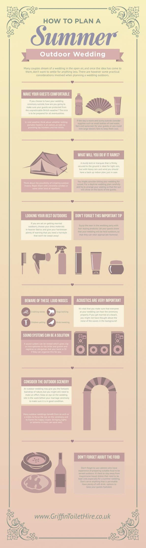 What we love about wedding planning infographics are the cool new ideas that keep us on ourtoes throughout the process. From the commonly asked questions for wedding venues down to the foods you should avoid just before the wedding, we have you covered with these super helpful tips from the professionals. Take a look, and […]