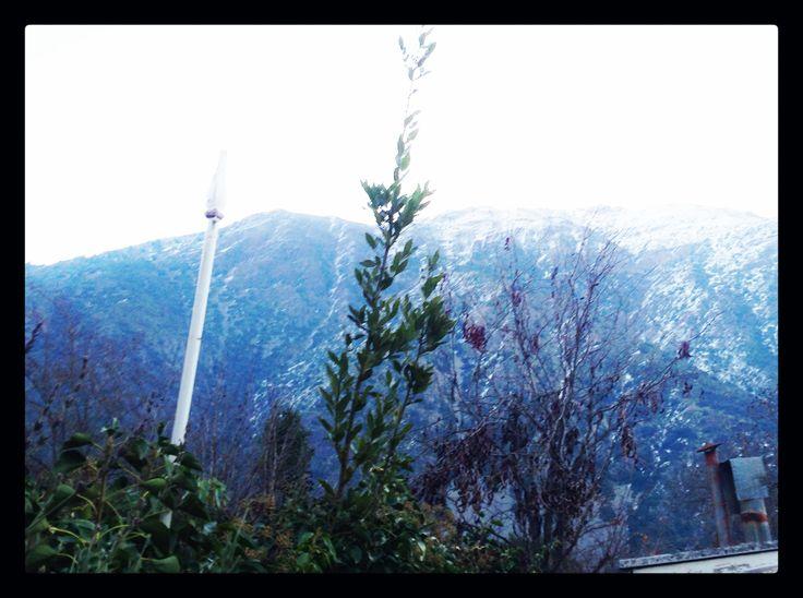 Un poco de #nieve #santiago #chile