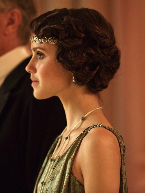 Poppy Drayton as Madeleine Allsopp in Downton Abbey (Series 4 Christmas Special, 2013).