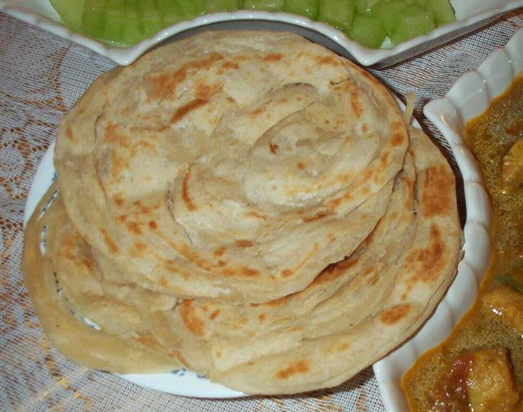 This layered parotta is one that would keep you going on and on. Try one and you are sure to be hooked on it.