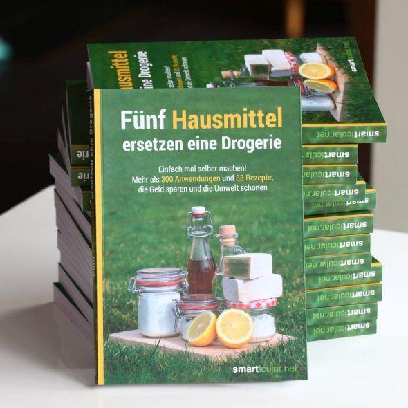 smarticular.net Buch: Fünf Hausmittel ersetzen eine Drogerie