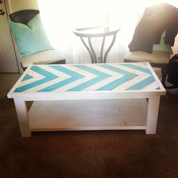 Chevron Pallet Coffee Table 12 best coffee table makeover images on pinterest | coffee table