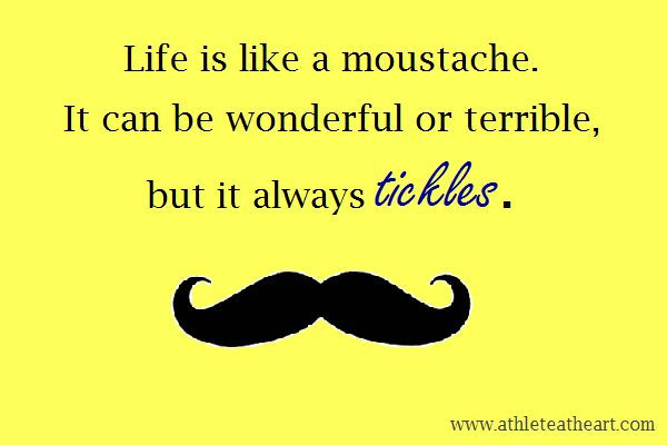 funny moustache quote | quote_mustache