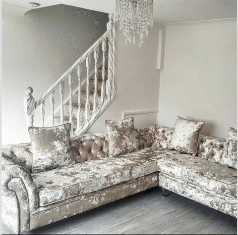 A Victoria Collection Corner Sofa - House of Sparkles