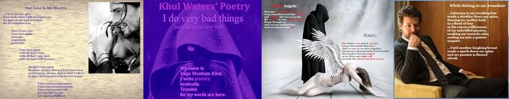 KW Three Poems and Logo Banner