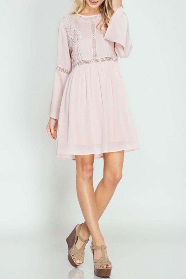 Best 25  Pink long sleeve dress ideas on Pinterest | Long sleeve ...