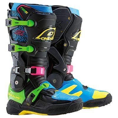 #O'Neal #RDX Neon Dirt Bike Boots
