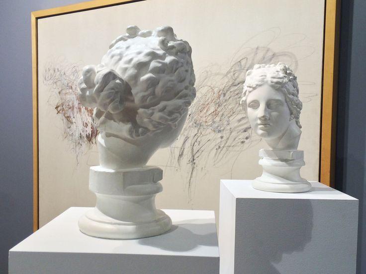 """Giulio Paolini """"Mimesi"""" 1975 [Barbara Mathes Gallery] #artbasel2015 #artbaselgalleries #artfair #artbasel #contemporaryart #artaddict #basel"""