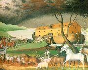 Noah's Ark 1846  by Edward Hicks