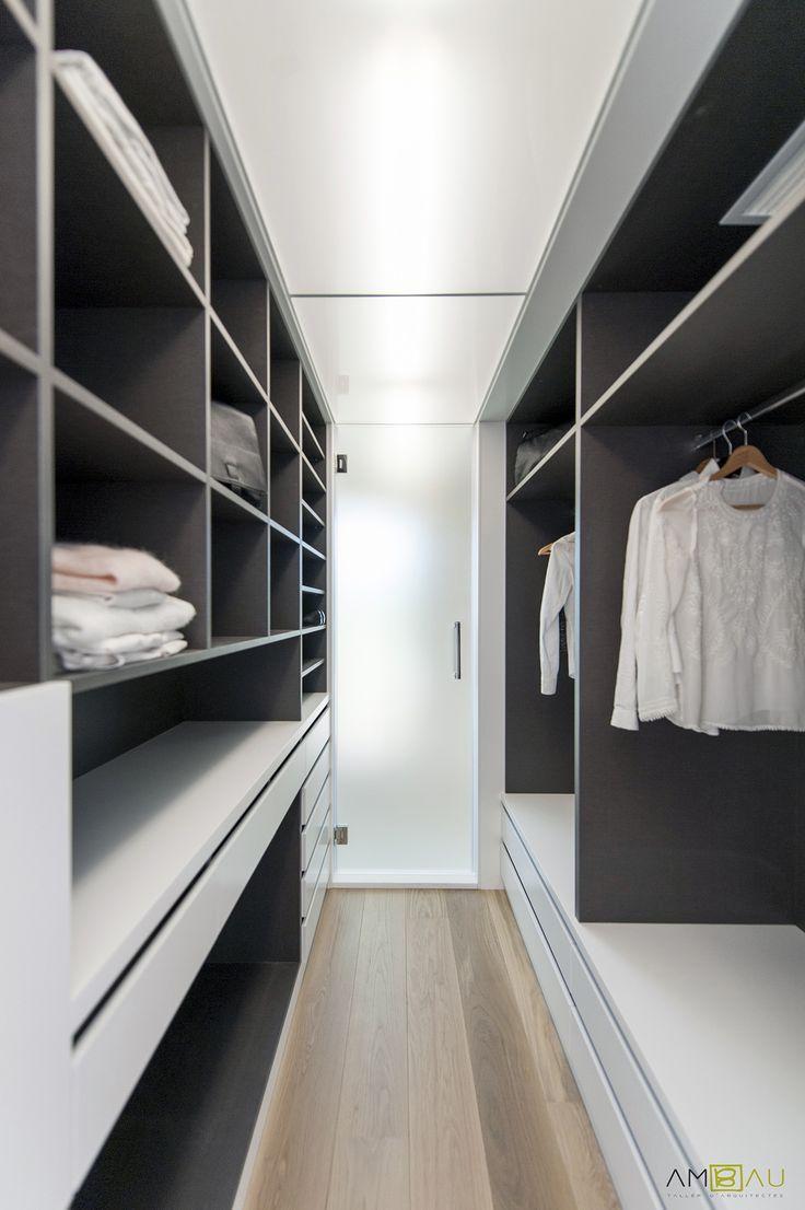 ideas de dormitorio vestidor estilo color gris diseado por