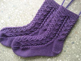 Whirligig Socks by verybusymonkey free
