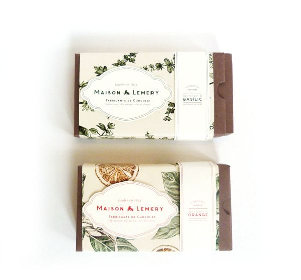 MAISON LEMERY - Chocolate Packaging
