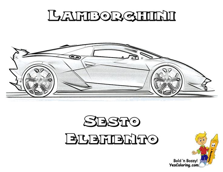 How To Draw A Car Lamborghini Aventador Step By Step Easy Free ...