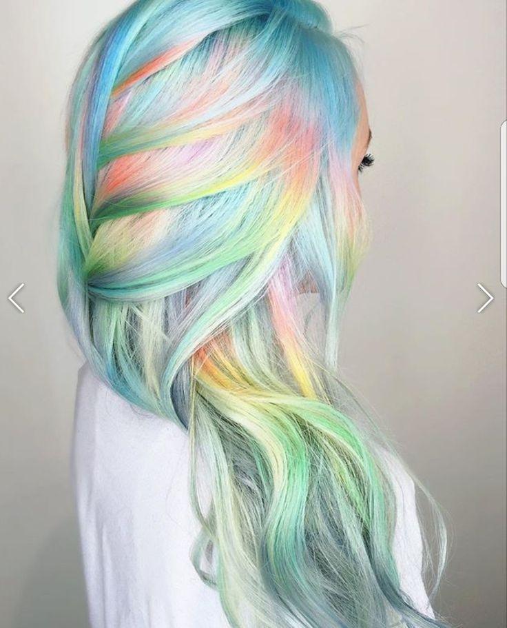 45 best color wheel hairstyles images on Pinterest | Ruedas de color ...
