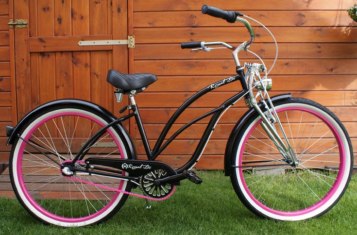 Rower cruiser Lady Springer #bike #cruiser #beachbike #beachcruiser #royalbi #rower #miejski www.RoyalBi.pl