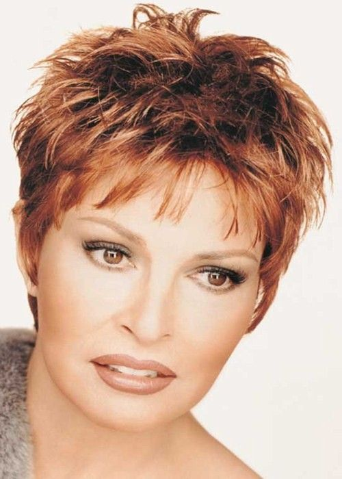 Raquel Welch Short Hairstyles | Raquel Welch Red Ladies Wig