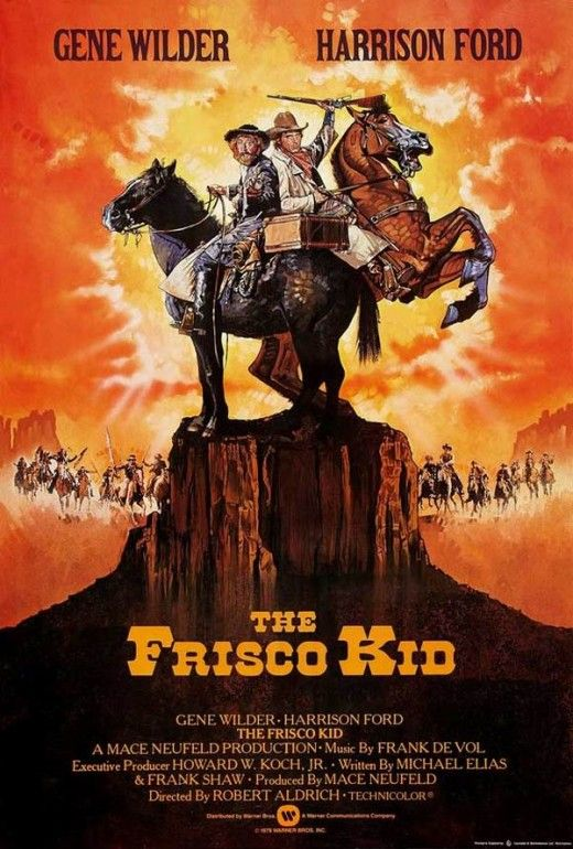 One of the funniest movies ever!!!  love Harrison Ford and Gene Wilder!!!  The Frisco Kid (1979)