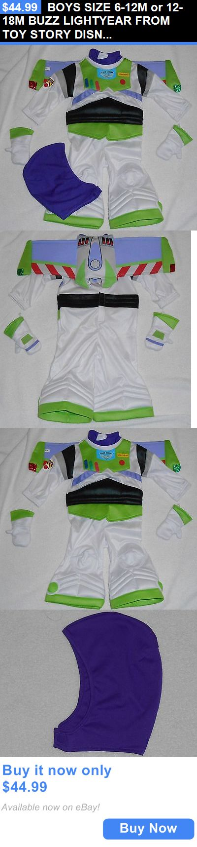 Kids Costumes: Boys Size 6-12M Or 12-18M Buzz Lightyear From Toy Story Disney Store Costume Nwt BUY IT NOW ONLY: $44.99