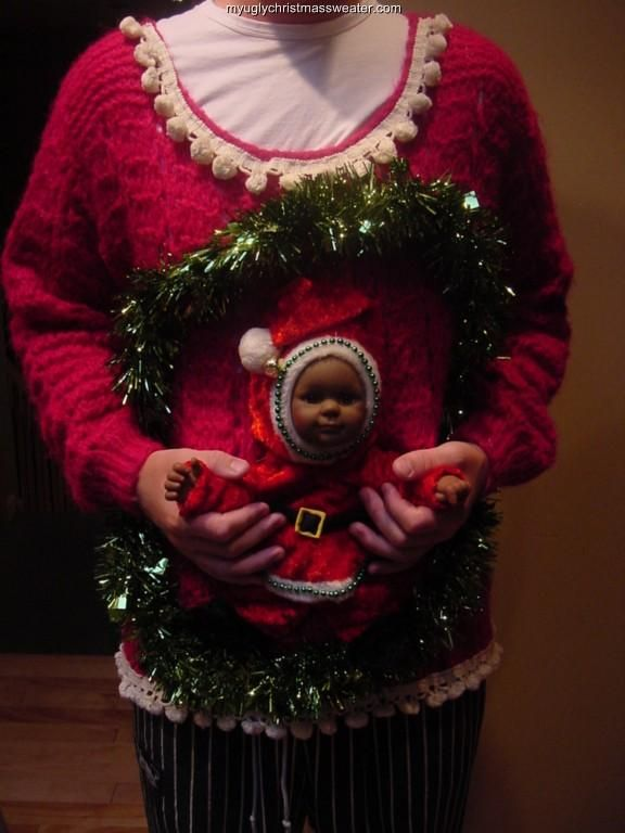 Ugliest Christmas Sweater Party Ideas Part - 38: Ugly Sweater