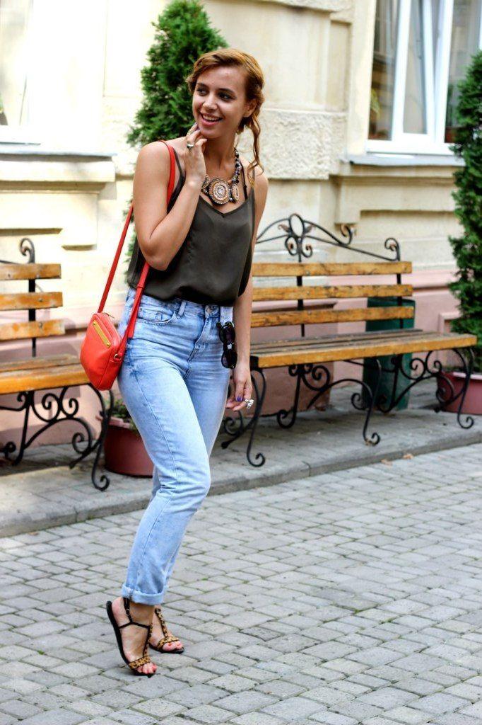 Style of living: Базовый гардероб для путешествий. Джинсы с завышенной талией