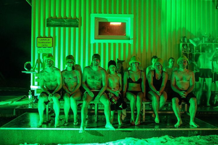 Rauhaniemi public sauna