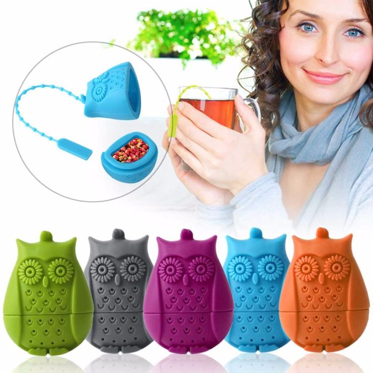 Aliexpress.com : Buy Tea Strainer Infusor Filter Empty Tea Bag Leaf Diffuser Creative Design Owl Tea Infuser Silicone Strainers Tools from Reliable tool spray suppliers on Leading lifestyle store