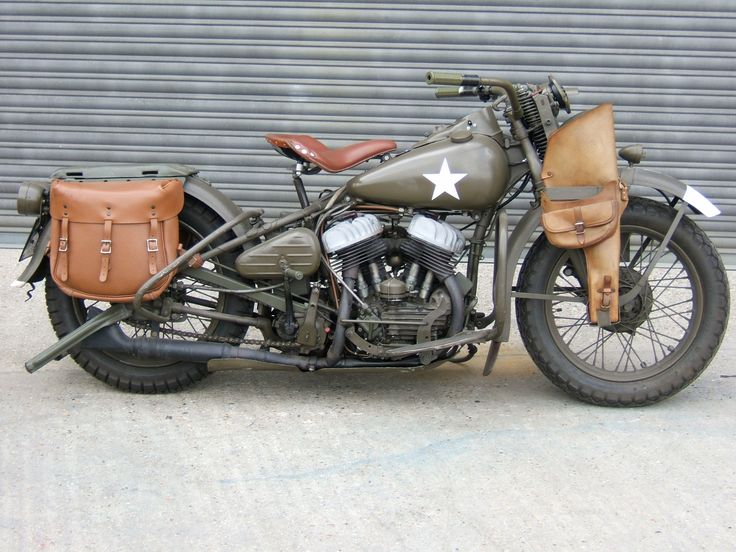 WWII Military Edition Harley Davidson. I would love to own this. I would ride it till the wheels fall off.