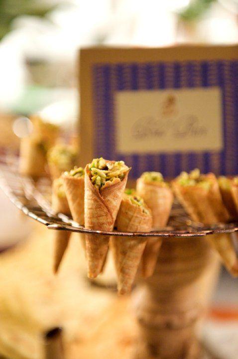 Snacks...Diwali, Wedding, or anytime~Chaatwallah Station, Bhelpuri  www.entertainingcompany.com