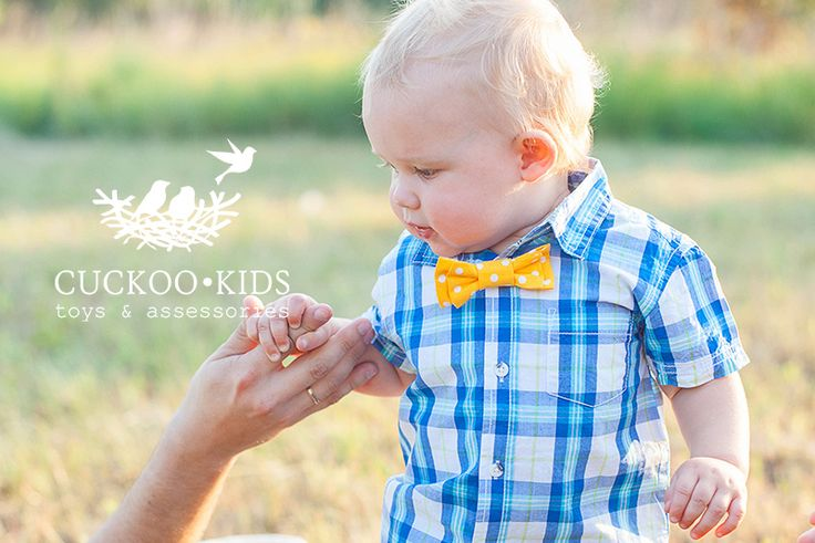 a bright bow tie on a one small gentleman:)