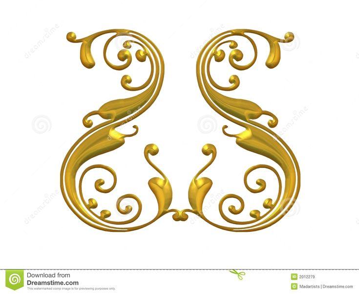 gold swirl border gold swirl border design gold swirling