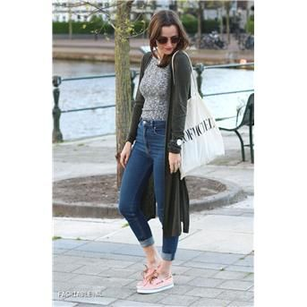 Sperry - roze bootschoenen | Outfit by; fashiable.nl
