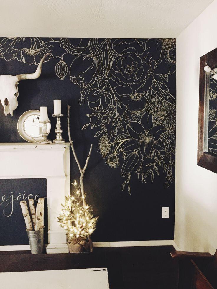 Best 25+ Black painted walls ideas on Pinterest | Framed ...