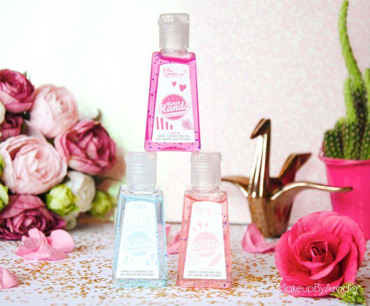makeupbyazadig - merci handy et rose carpet - enjoyphoenix-clarachannel-elsamakeup-gels antibacteriens -…