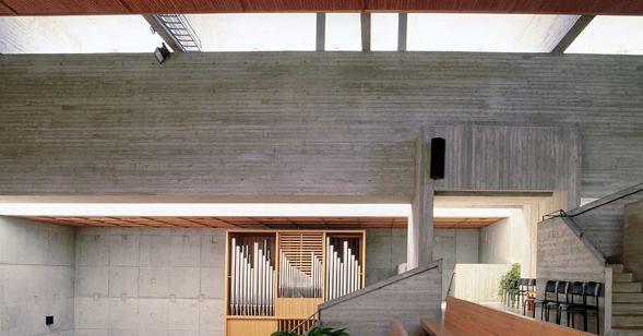 Church in Järvenpää (Finland), 1967-68 by Erkki Elomaa