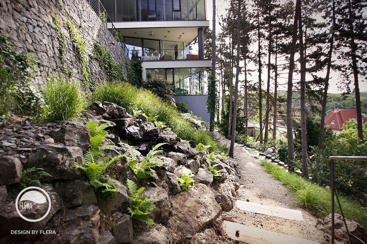 #landcape #architecture #garden #path #forest #stairs #rockery