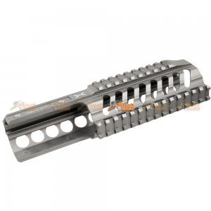 Fashion Defence Aluminum 9 Inch Short KRISS Rail for KWA KRISS VECTOR Airsoft GBB (Grey) - AirsoftGoGo