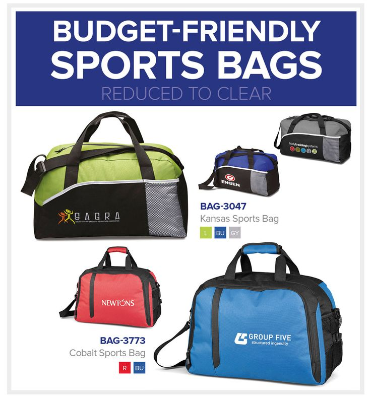 Sports Bags   Budget Friendly