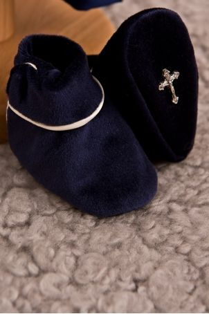 """Velvet baby boy bootees, matching the """"Chester"""" suit, from Petite Coco.  http://www.petitecoco.ro/shop/en/home/22-chester-baby-bootees.html"""