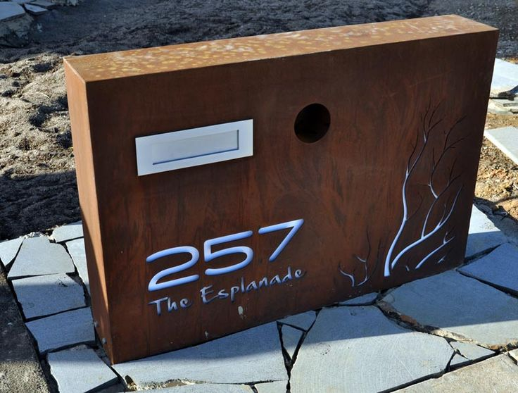 PO Box Designs Bullyfox Large Letterbox This custom made letterbox is intricately designed and laser cut with precise detail... learn more