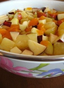how to make fruit dip make ahead fruit salad