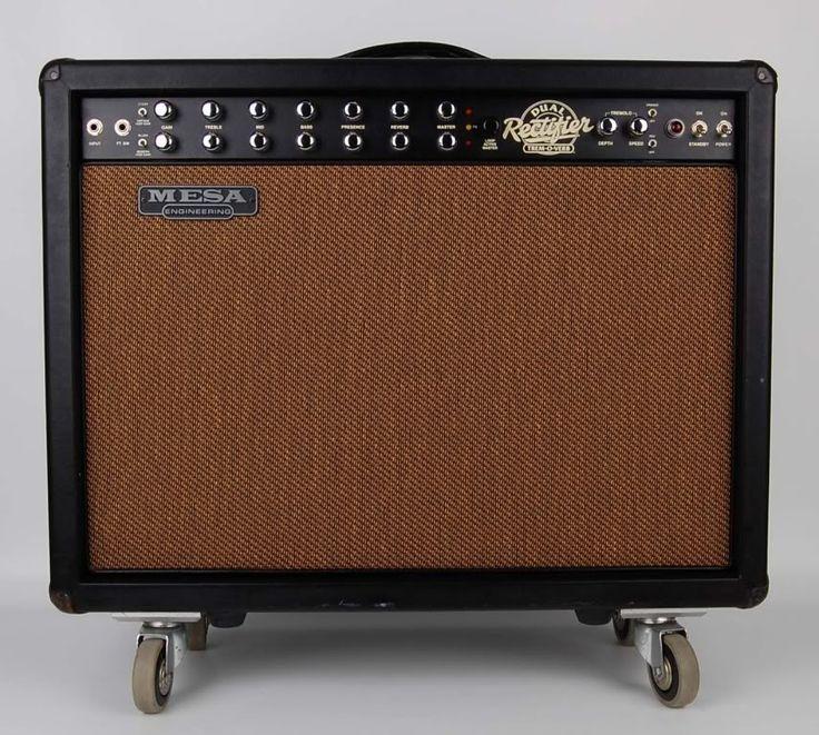 Mesa Dual Rectifier Tremoverb Combo 2x12 Guitar Amp Amplifier