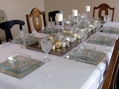 Gorgeous new year 39 s eve tablescape you 39 d never know it for Table 52 new years eve