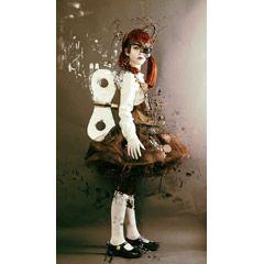 [フリー画像素材] フォトレタッチ, 人物, 子供, 少女 / 女の子, 人形, スチームパンク ID:201411092100