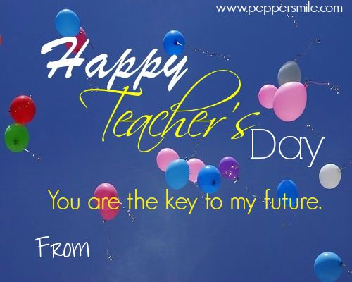 Share Happy Teachers Day Message image with your Teacher, Guru, Mentor, Coach,etc using Facebook, Twitter, Google plus, Whatsapp, etc.