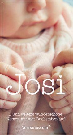 Kurz und knackig: Tolle Babynamen mit vier Buchstaben