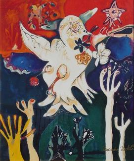 release the peace -alexandra nechita