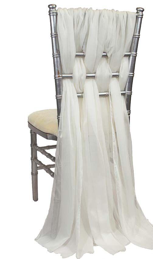 Alexandra Light Ivory Chair Sleeve In 2019 Chiavari