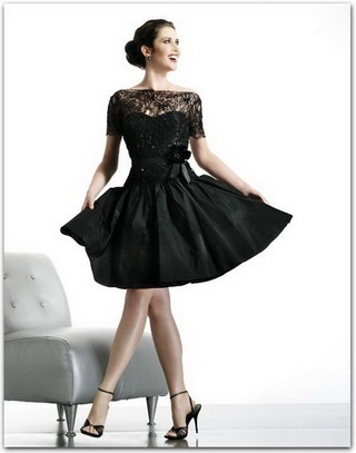 Love this dress. Now if I just had the body for it.  (I used to.)