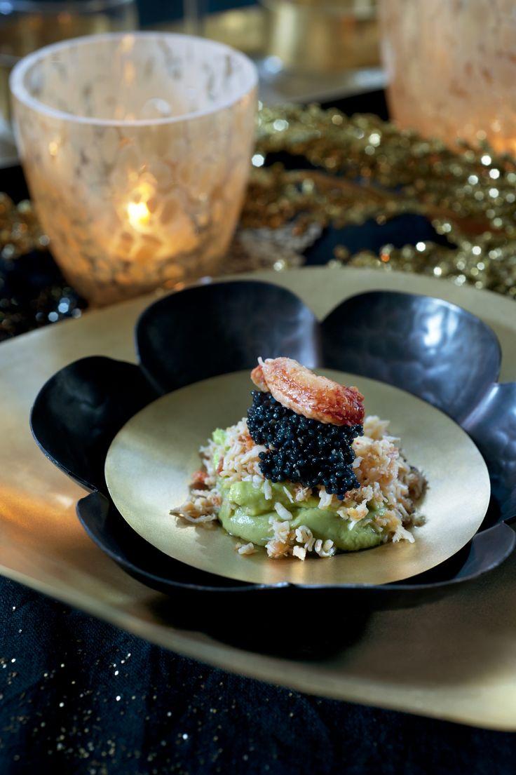 Avocado met krab en lompviseitjes - Pascale Naessens
